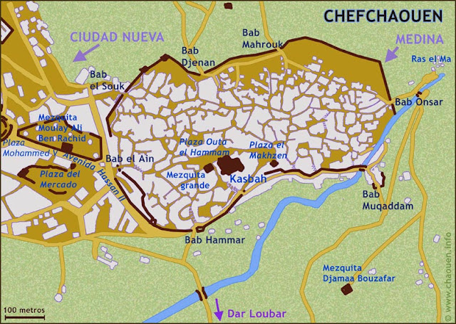 Mapa de Chauen