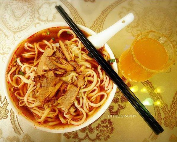 lamien beef soup di lou lang islam restaurant macau