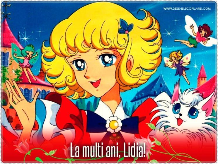 """Lidia si """"Floarea cu 7 Culori"""""""