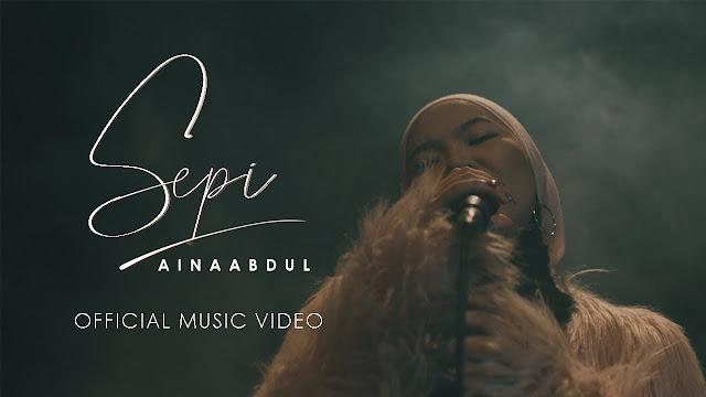 Lirik Lagu Sepi Aina Abdul