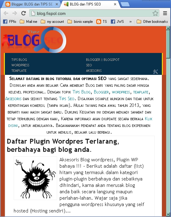 menjadikan Rensponsive / Mobile friendly