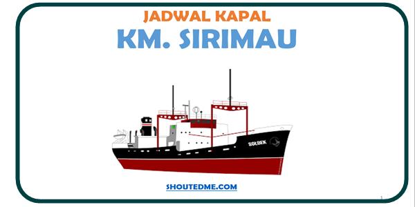 Jadwal keberangkatan kapal sirimau 2019