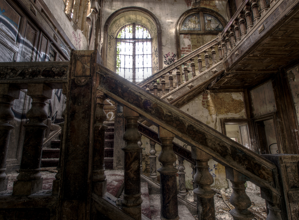 Tenebrous Magazine - The Blog: Abandoned Houses, Antiques ...