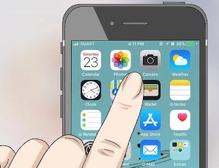 cara scan barcode menggunakan iPhone