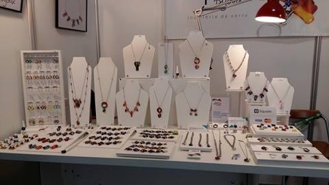 Laparé bijoux Plein-Art 2016 Salon des métiers d'arts Québec