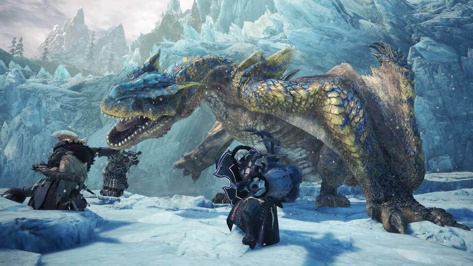 Latest Monster Hunter World: Iceborne Expansion Story Trailer