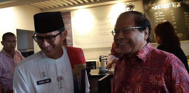 Serap Pemikiran Rizal Ramli, Sandi: Pemerintah Kedepan Harus Berpihak ke Rakyat