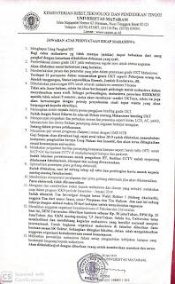 Mahasiswa Universitas Mataram Demo Tentang Aturan Mencekik, Ini Jawaban Pihak Kampus.