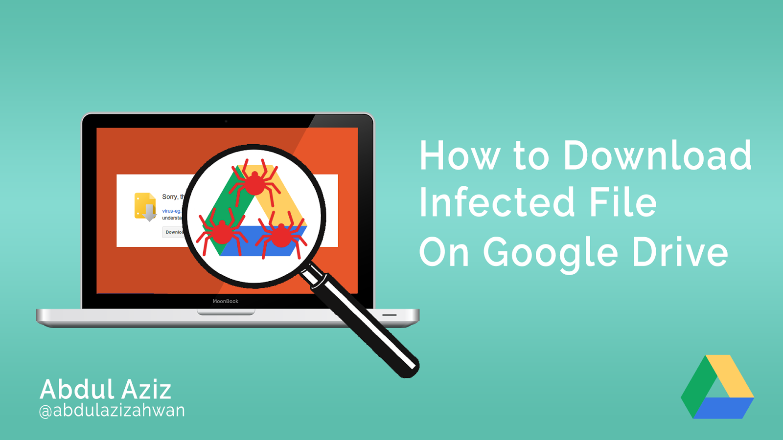 Tutorial Cara Mudah Mengatasi Tidak Bisa Download File Yang Terinfeksi Virus Di Google Drive