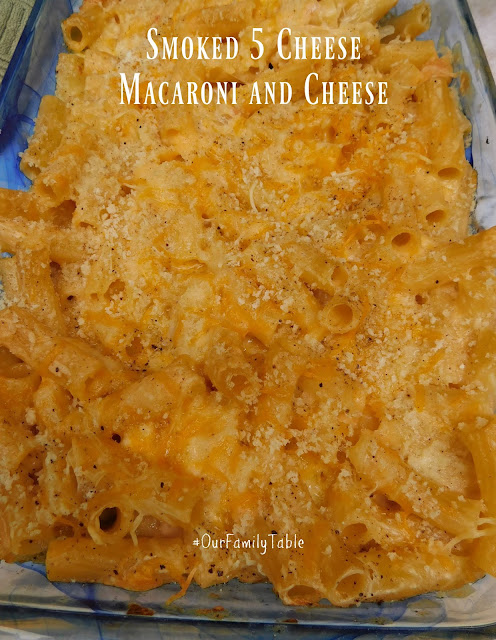 Smoked 5 Cheese Mac and Cheese pin