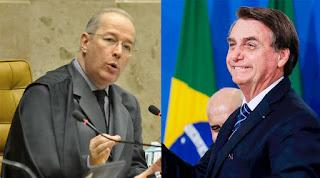 Celso de Mello avisa Bolsonaro sobre impeachment que está no STF