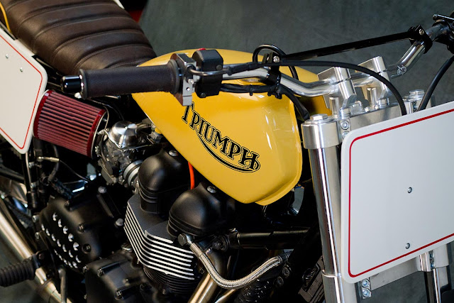 Triumph Bonneville By Mr. Martini Hell Kustom