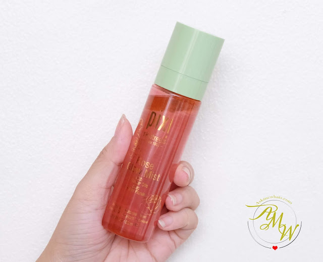 a photo of Pixi Skintreats Rose Glow Mist Review