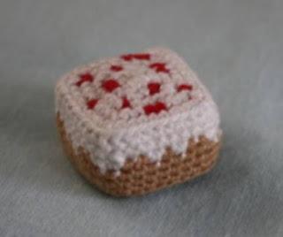 PATRON GRATIS CAKE | MINECRAFT AMIGURUMI 45857