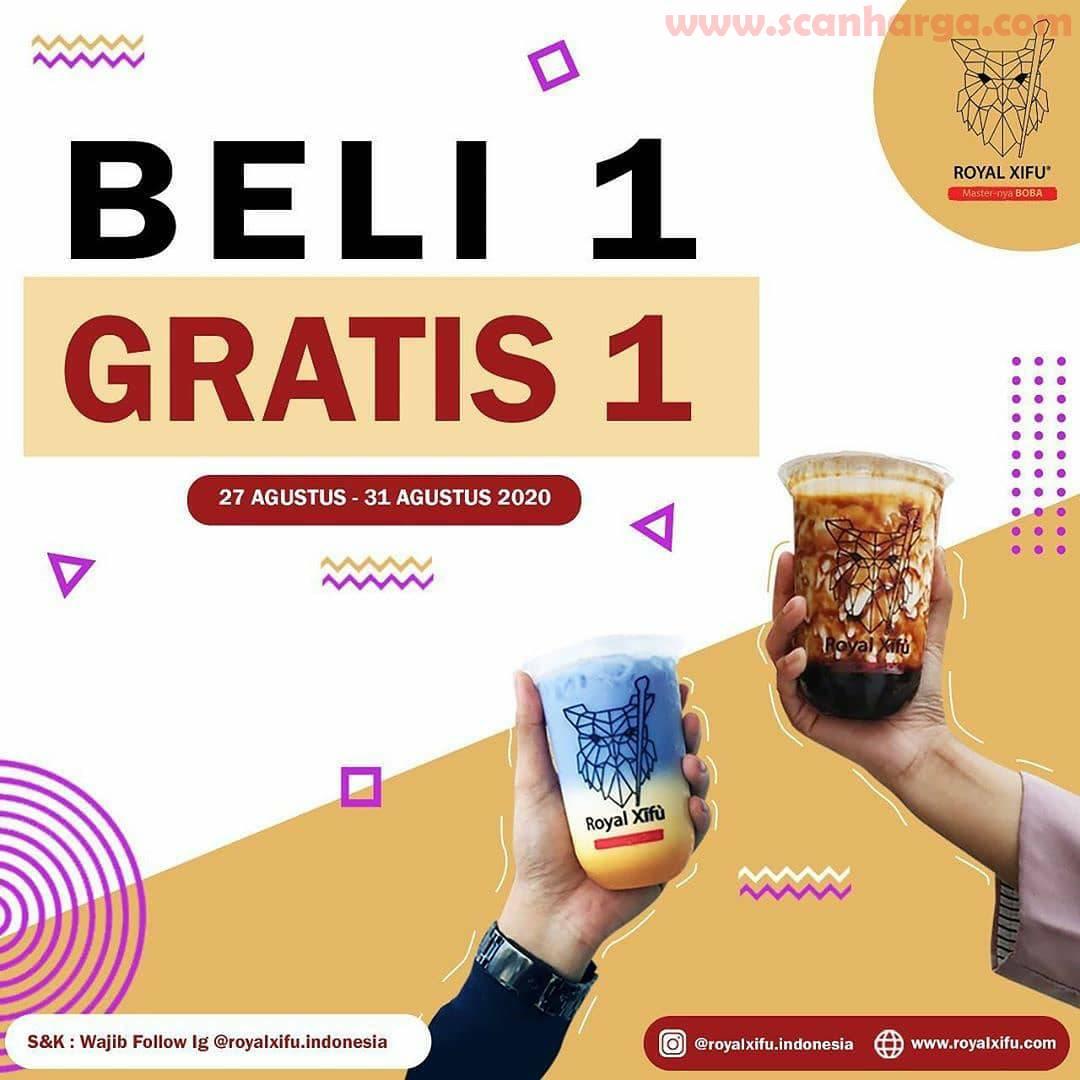 Promo Royal Xifu Beli 1 Gratis 1 Periode 27 - 31 Agustus 2020
