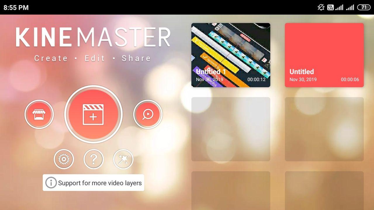 Kinemaster Mod Apk Latest Unlocked Version [ No Watermark ] 2019