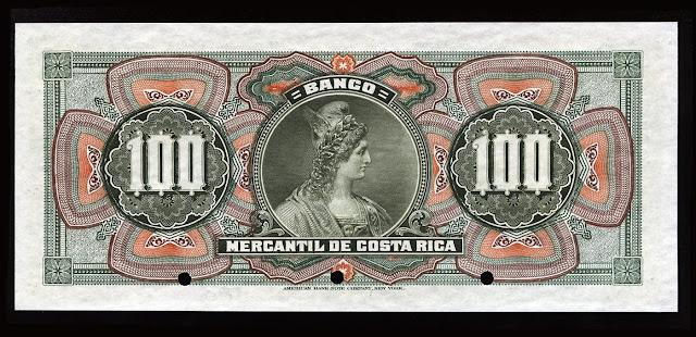 Costa Rica 100 Colones Banknote