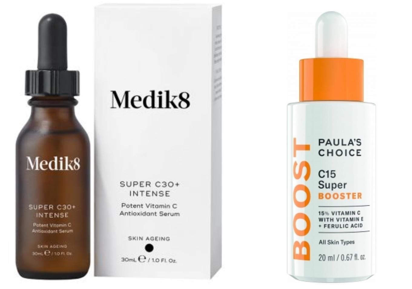 produkty obsahujúce vitamín C,vitamín E a kyselinu ferulovú
