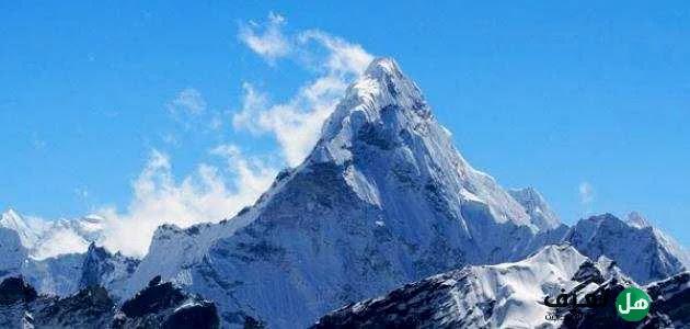 هل تعرف أعلى الجبال في العالم ؟