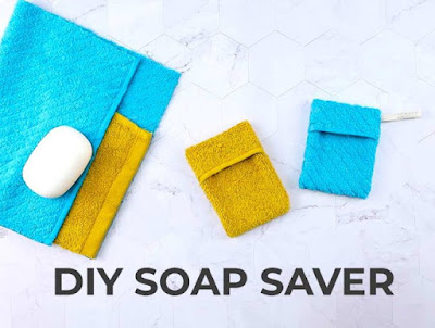 DIY Soap Saver Pouch, one of my personal favorites from last week!