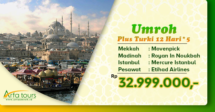 Umroh plus turki bintang 5