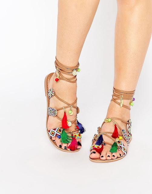 Summer sandals on a budget