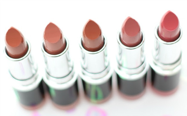 Freedom Makeup London Pro Bare lipstick collection