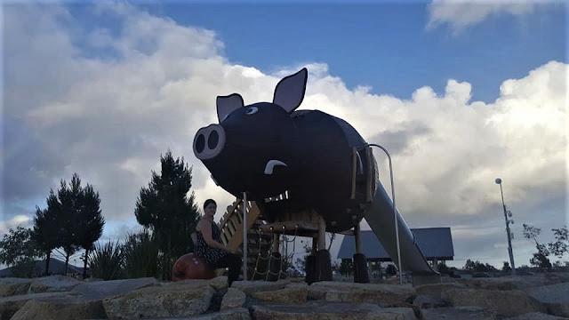 BIG Pig | Adventurescape Playground, Yunderup