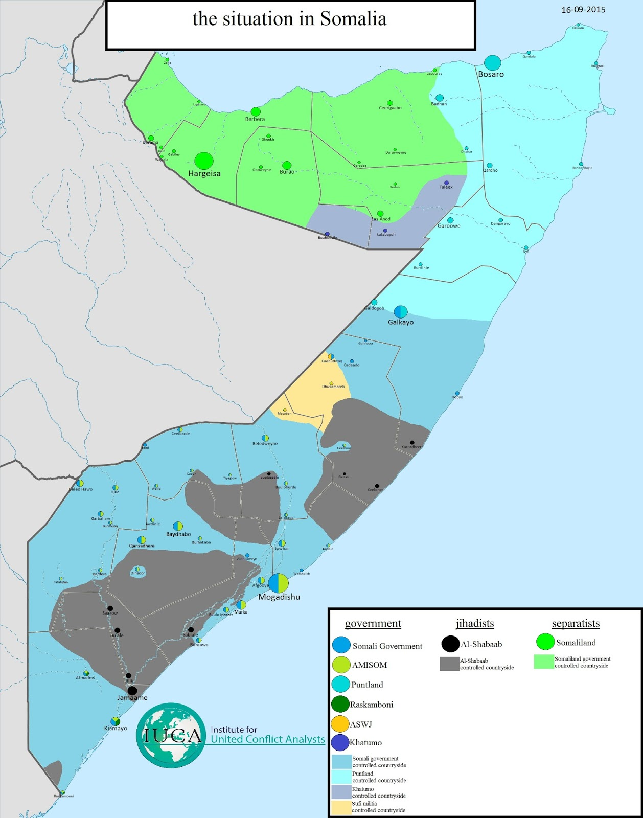 The Situation in Somalia