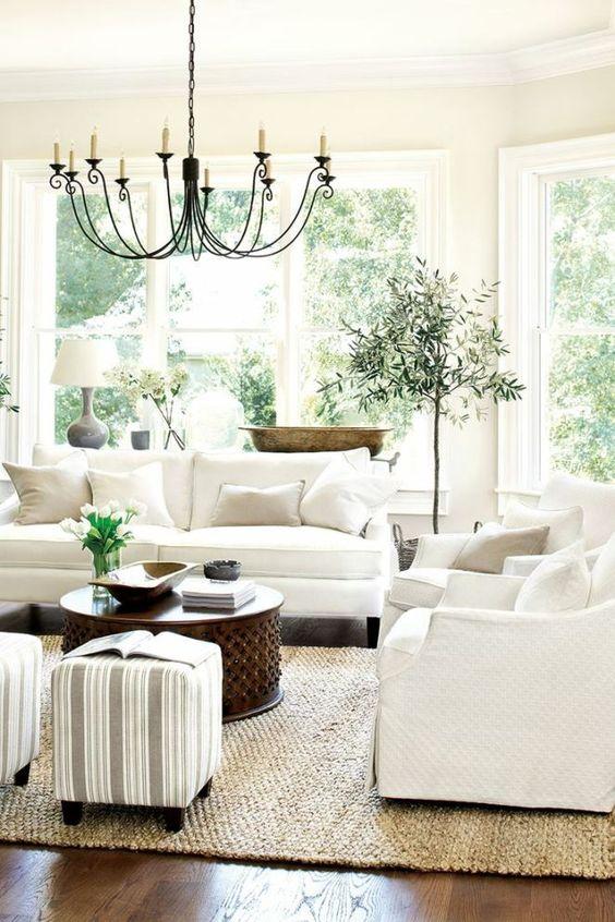 Sala De Estar Estilo Frances ~ inspiradoras para la decoración de su sala de estar  Decoracion de