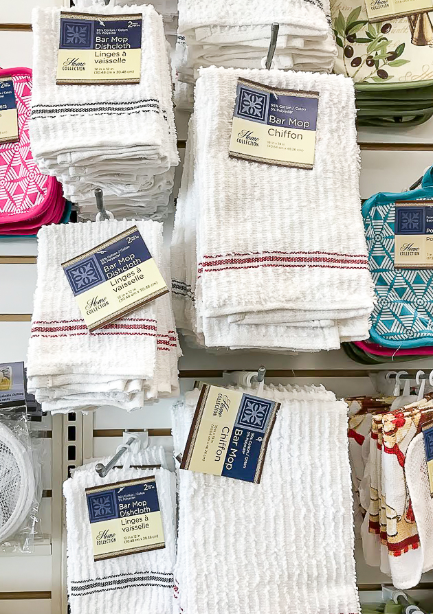 Dollar tree farmhouse dish towels