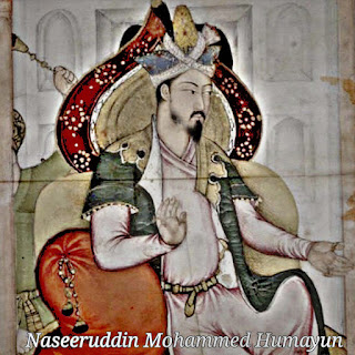 Humayun,Father of Akbar,Son of Babur