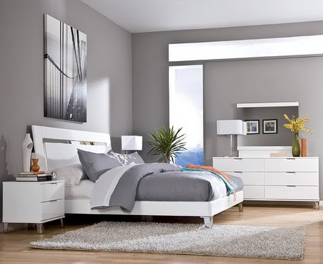 home color idea: gray Wall Paint Ideas for bedrooms