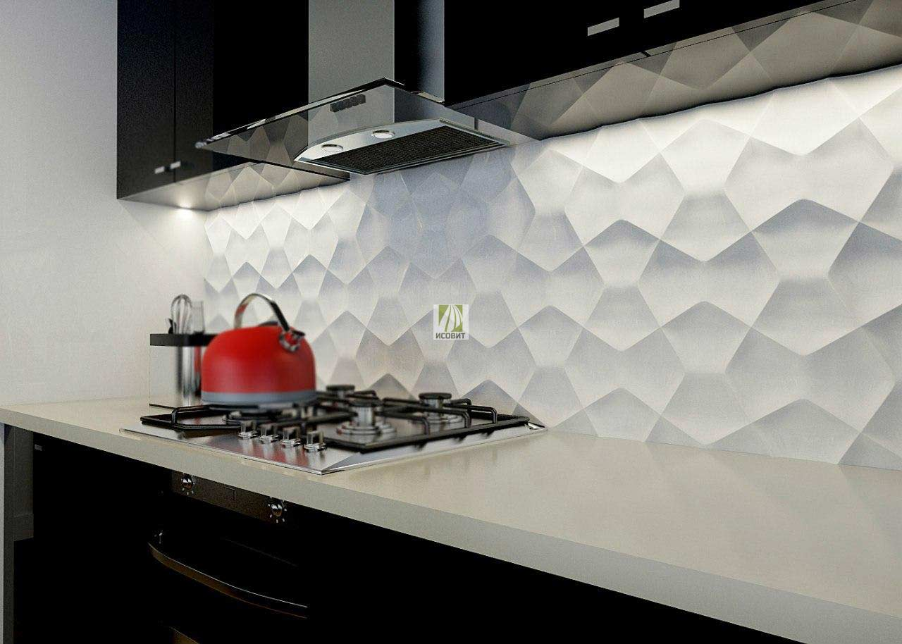 kitchen wall coverings dish towels choosing the best panels from different materials