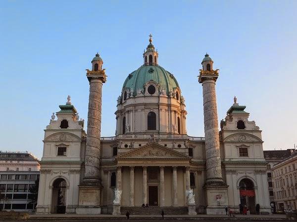 Vienne Wien gratuit innere stadt karlskirche église