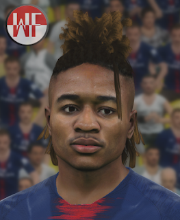 PES 2017 Faces Christopher Nkunku by WER Facemaker