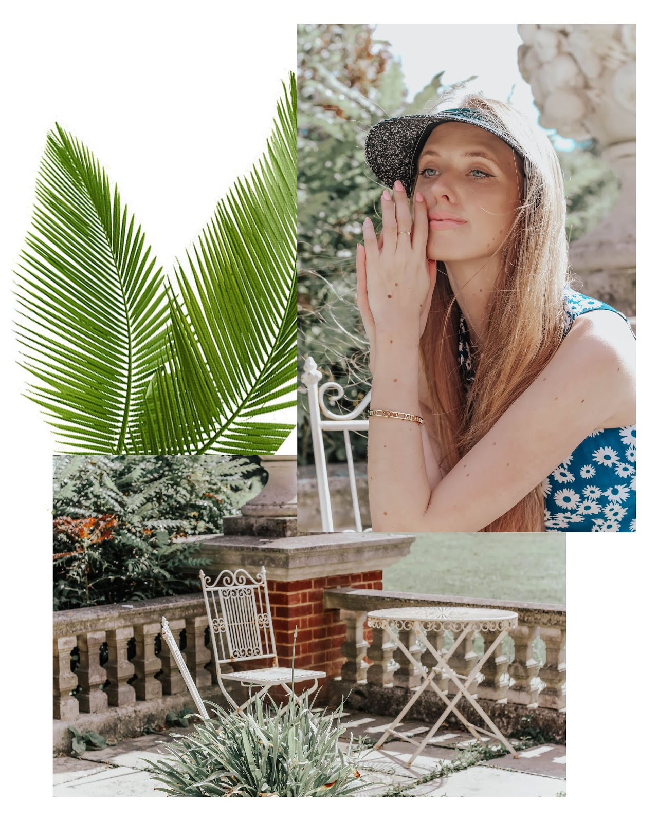 Botanical Summer Fashion Collage