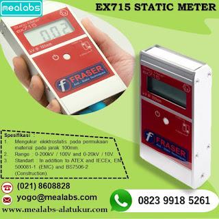 Alat Ukur Elektrostatic Fraser EX-715