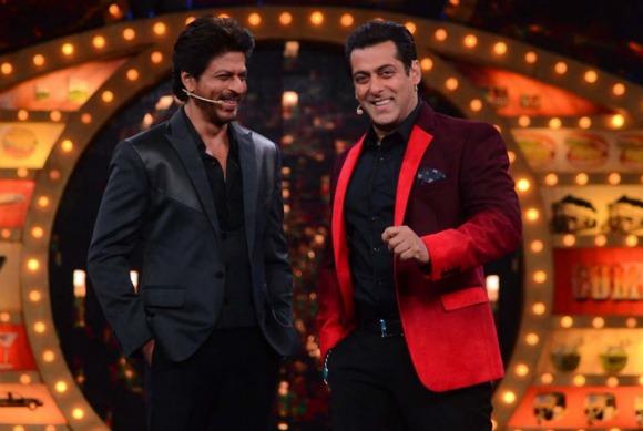 Shah Rukh Khan and Salman Khan's reunion on Bigg Boss 10