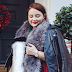 OOTD: My Christmas Day Look, Featuring Fluff, Glitter & Velvet