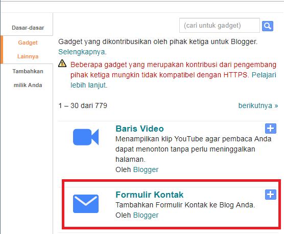 Cara Membuat Contact Form Pada Blog Dengan Tampilan Yang Menarik
