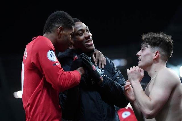 Manchester City 1 - 2 Manchester United premier league highlight
