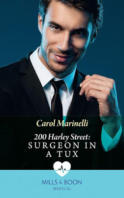 Surgeon in a Tux by Carol Marinelli 200 Harley Street Mills & Boon cover
