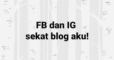 Facebook sekat link blog