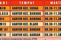 Jadwal SAMSAT Keliling Batang Agustus 2019