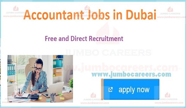 Recent accounts JOBS IN Dubai, CURRENT JOBS IN gulf COUNTRIES,