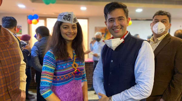 Who is Mansi Sehgal…? Mansi Sehgal overwhelmed the patterns list on Monday as she joined the Aam Aadmi Party (AAP) within the sight of gathering pioneer Raghav Chadha.