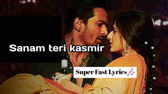 sanam teri kasam lyrics in hindi