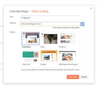 Comment Démarrer dans le Domaine du Blogging en 2020 en Créant un Blog Gratuitement sur Google avec Blogger Blogspot et Gagner de l'argent avec un Blog Gratuit