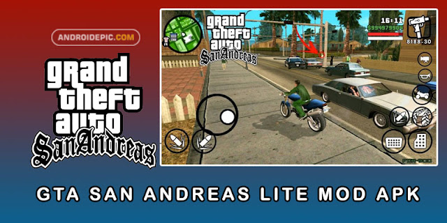 Download GTA San Andreas Mod Terbaru (SA LITE) - androidepic.com